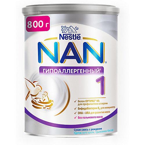 Молочная смесь Nestle NAN гипоаллергенный 1, с 0 мес, 800 г от Nestle