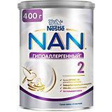 Молочная смесь Nestle NAN гипоаллергенный 2, с 6 мес, 400 г