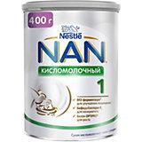 Молочная смесь Nestle NAN кисломолочный 1, с 0 мес, 400 г