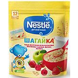 Молочная каша Nestle Шагайка мультизлаковая, земляника, яблоко, малина, с 12 мес, 200 г