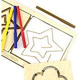 Обучающий набор WoodLand Toys Межполушарная доска Звезда
