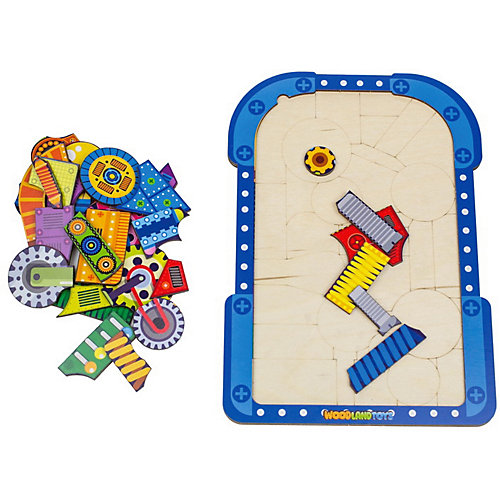 Пазл WoodLand Toys Механизмы от Woodland