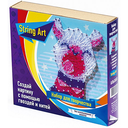 Набор для творчества String Art Lab Альпака от String Art Lab