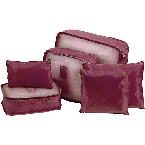 Органайзеры для хранения Bradex, 6 шт - красный