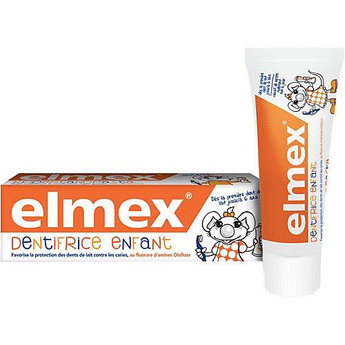 Зубная паста Elmex Children's детская, 0-6 лет, 50 мл