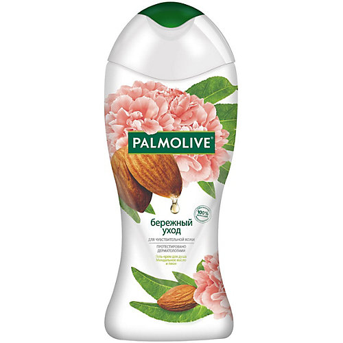 Гель для душа Palmolive бережный уход с миндальным маслом, 250 мл