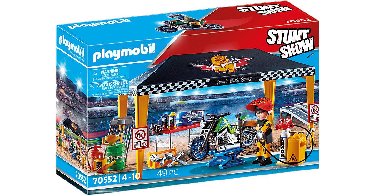 PLAYMOBIL® 70552 Stuntshow Werkstattzelt