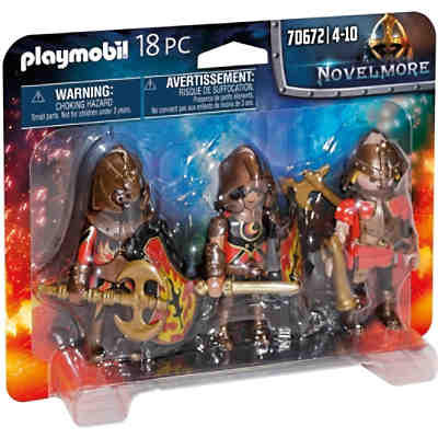 PLAYMOBIL® 70672 3er Set Burnham Raiders