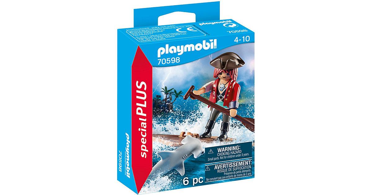 PLAYMOBIL® 70598 Special Plus: Pirat mit Floß und Hammerhai