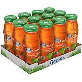 Сок Gerber яблочно-виноградный с шиповником с 6 мес, 12 шт х 175 мл/уп