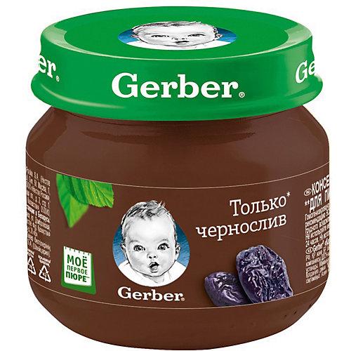 Пюре Gerber чернослив с 4 мес, 12 шт х 80 г/уп от Gerber
