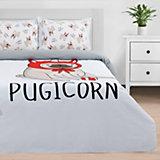 Комплект постельного белья 2-спальный Этель Pugicorn