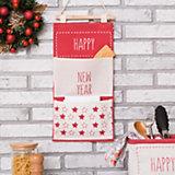 Кармашек текстильный Этель Happy New Year, 2 отделения