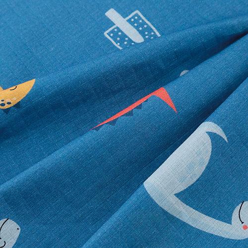 Набор пеленок Крошка Я Santasaurus 2 шт - atlantikblau от Крошка Я