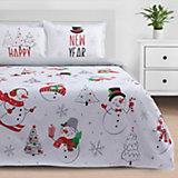 Комплект постельного белья 1,5-спальный Этель Snowman