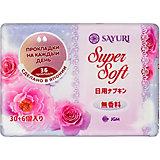 Ежедневные гигиенические прокладки Sayuri Super Soft,  36 шт