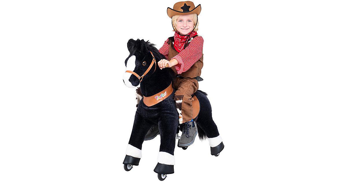 Kinder Reittiere  Black Beauty Pferd medium schwarz