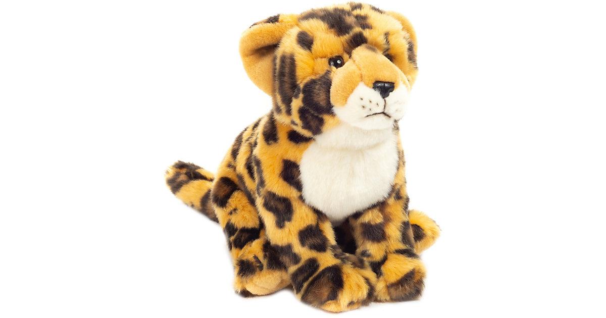 Leopard sitzend 27 cm