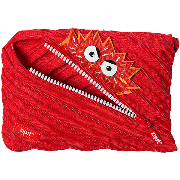Schlamperetui Talking Monster Jumbo Pouch Red