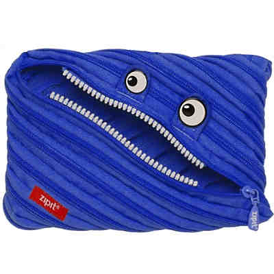 Schlamperetui Classic Monster Jumbo Pouch Royal Blue