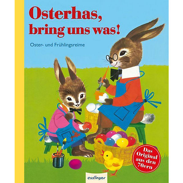 Osterhas, bring uns was!