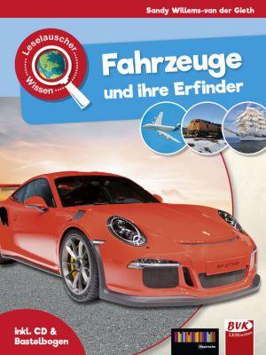 Buch - Fahrzeuge und ihre Erfinder, m. Audio-CD