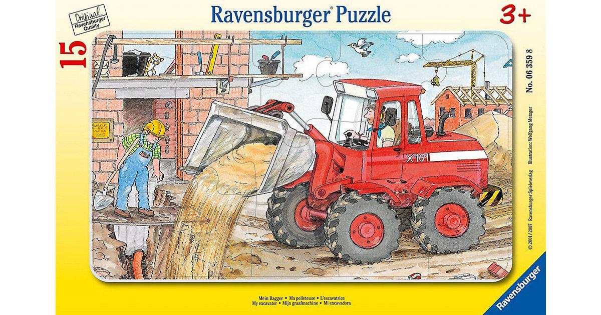 Mein Bagger (Rahmenpuzzle)