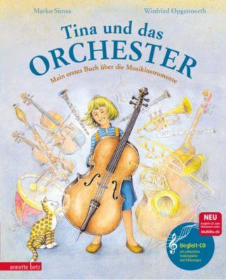 Buch - Tina und das Orchester, m. CD-Audio