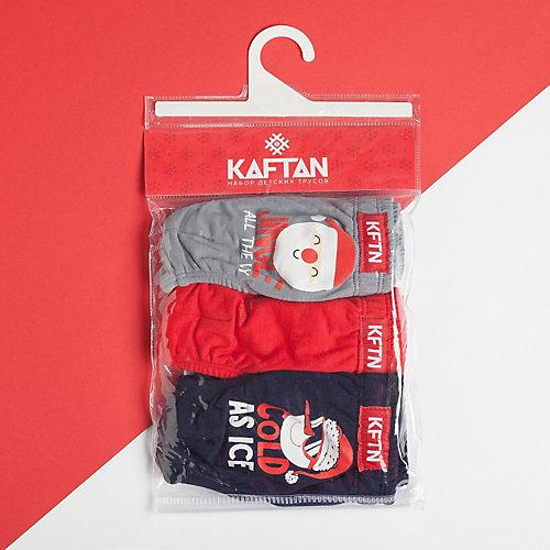 Трусы Kaftan, 3 шт - красный от Kaftan