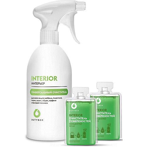 Сет DutyBox Бутылка + Универсальный очиститель поверхностей Interio