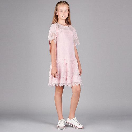Нарядное платье Choupette - розовый