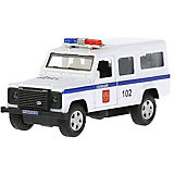 "Машинка Технопарк Land Rover Defender ""Полиция"""