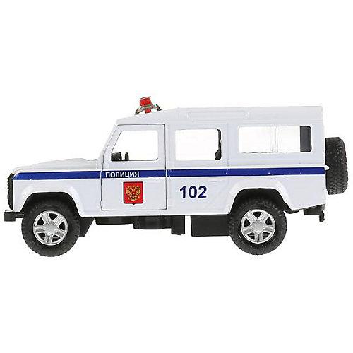 "Машинка Технопарк Land Rover Defender ""Полиция"" от ТЕХНОПАРК"