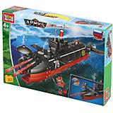 """Конструктор """"Город мастеров"""" подводная лодка, с фигуркой, 363 дет."""
