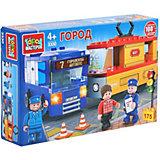 """Конструктор """"Город мастеров"""" авария: троллейбус+трамвай, с фигурками, 175 дет."""