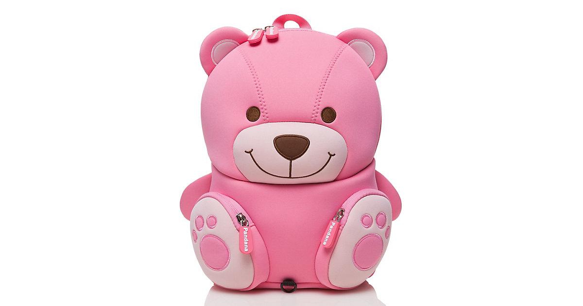 Kinderrucksack Bella Bär mit Brustgurt Mädchen ab 2 Jahren Kindergarten, Kita und Freizeit Kindergartenrucksäcke rosa  Kinder