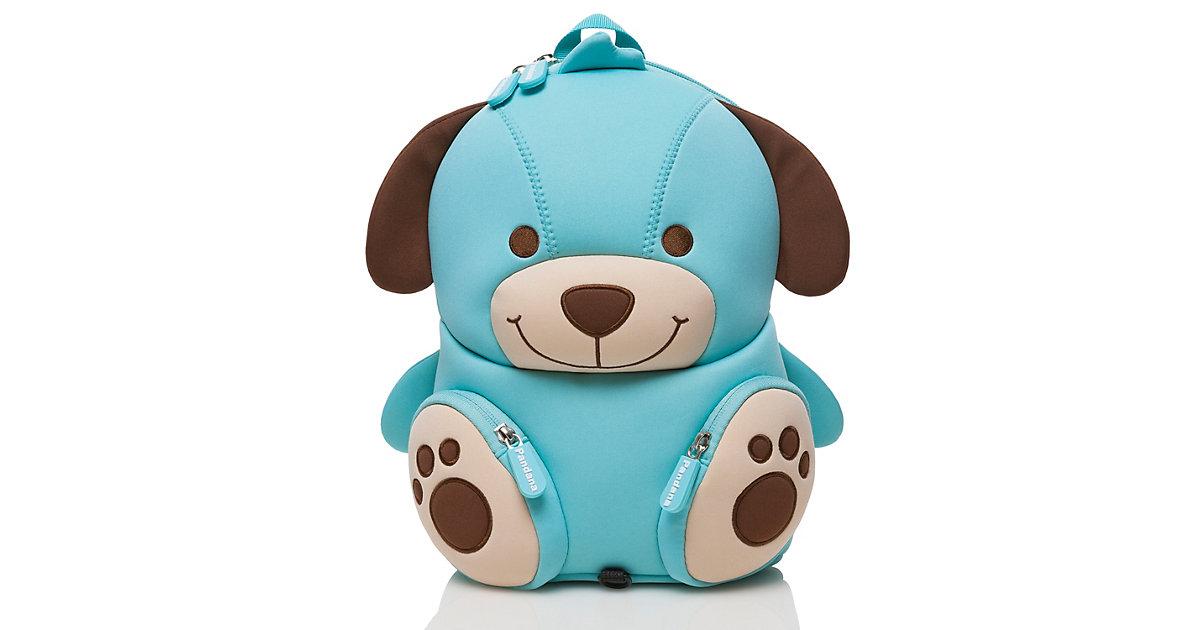 Kinderrucksack Hubert Hund mit Brustgurt Jungen und Mädchen ab 2 Jahren Kindergarten, Kita und Freizeit Kindergartenrucksäcke blau  Kinder