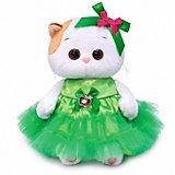 Мягкая игрушка Budi Basa Кошечка Ли-Ли Baby в платье с яблочком, 20 см