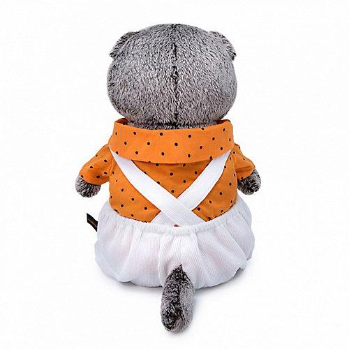 Мягкая игрушка Budi Basa Кот Басик в белом комбинезоне, 19 см от Budi Basa