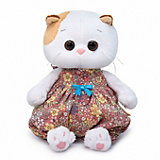 Мягкая игрушка Budi Basa Кошечка Ли-Ли Baby в песочнике в цветочек, 20 см