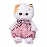 Мягкая игрушка Budi Basa Кошечка Ли-Ли Baby в песочнике в горошек, 20 см