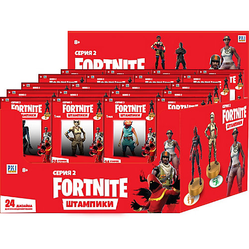 Штампик Fortnite Серия 2, 7,5 см