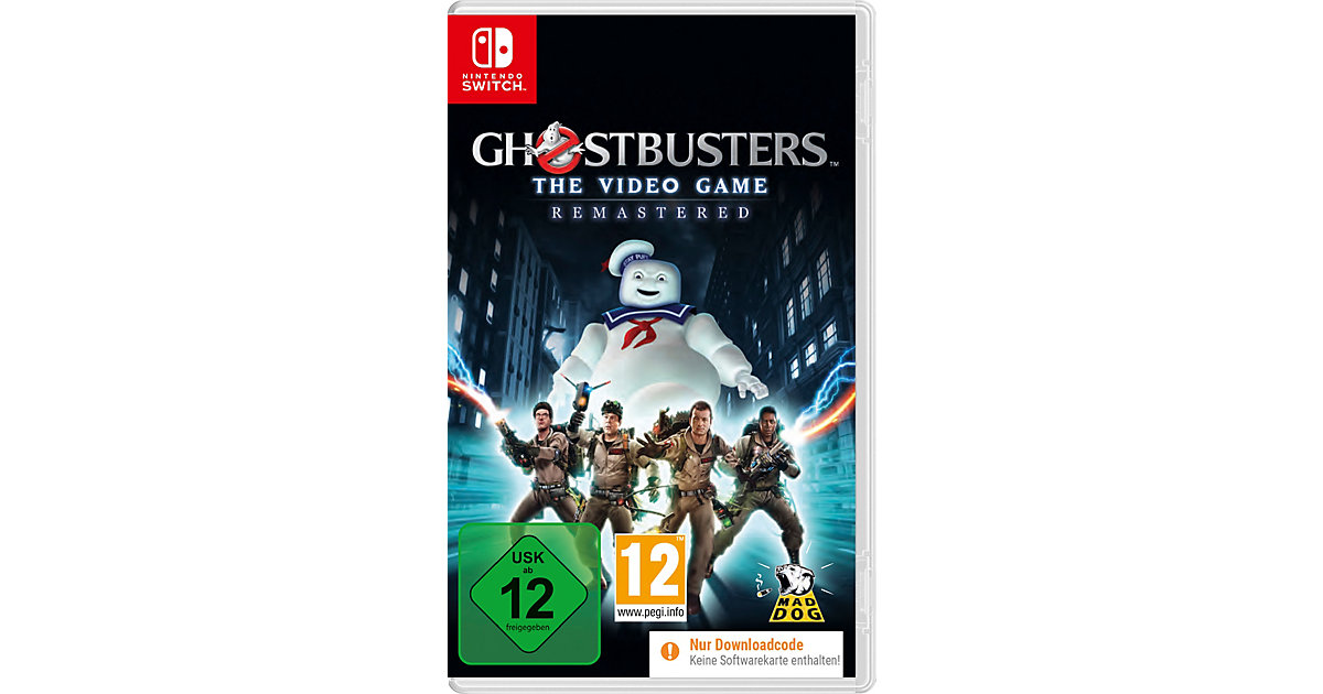 SWITCH Ghostbusters The Video Game Remastered