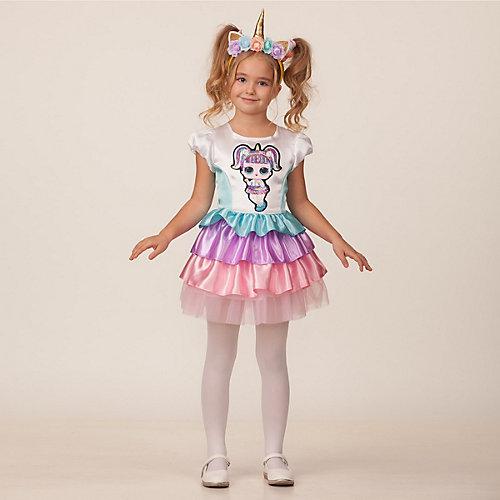 Карнавальный костюм Батик LOL Единорожка - pink/blau от Батик