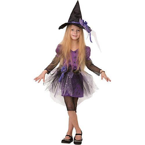 Карнавальный костюм Батик Ведьмочка - черный от Батик