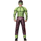 Карнавальный костюм Батик Мстители Халк с мускулами