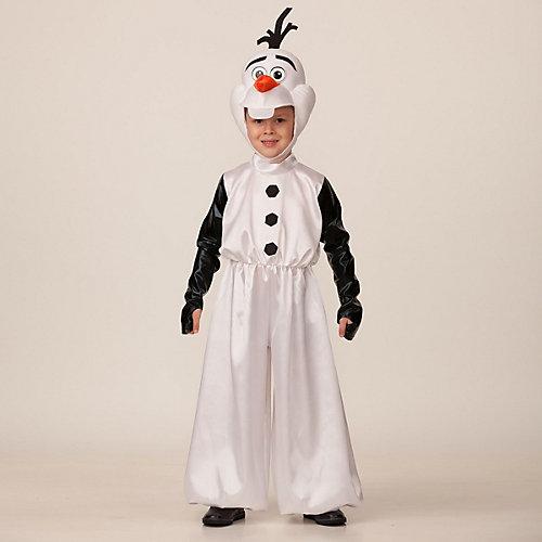Карнавальный костюм Батик Disney Олаф - белый от Батик