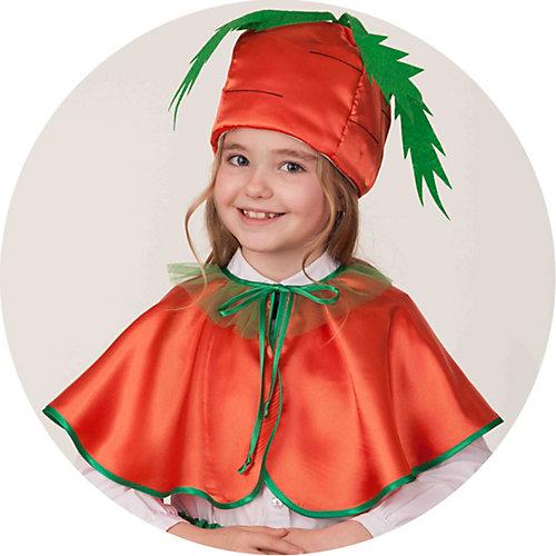 Карнавальный костюм Батик Морковка - оранжевый от Батик