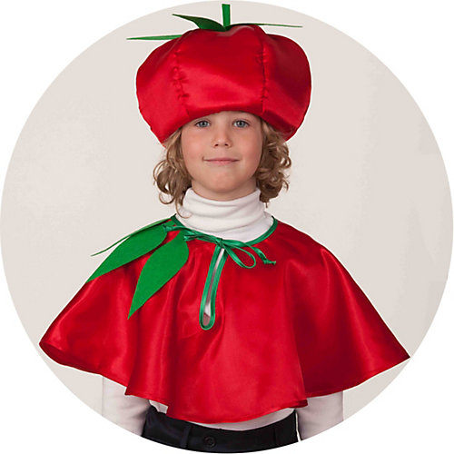 Карнавальный костюм Батик Помидор - красный от Батик