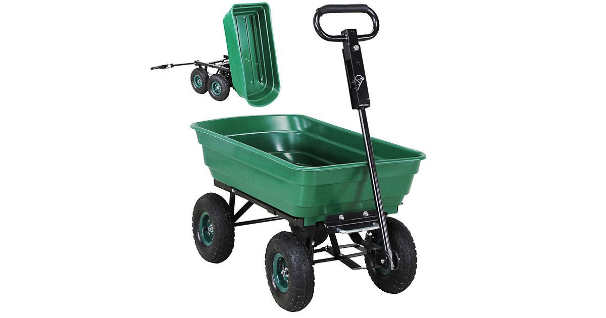 Bollerwagen Dumper grün